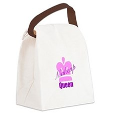 Makeup Queen Canvas Lunch Bag