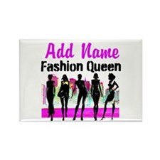 FASHION QUEEN Rectangle Magnet (10 pack)