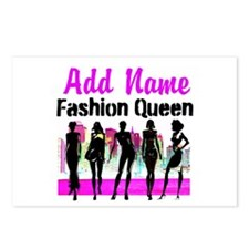 FASHION QUEEN Postcards (Package of 8)