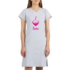 I Love/Heart Tuna Women's Nightshirt