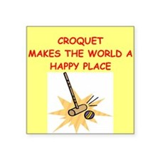 "CROQUIT.png Square Sticker 3"" x 3"""