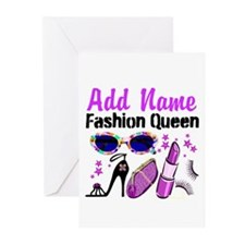 FASHION QUEEN Greeting Cards (Pk of 10)