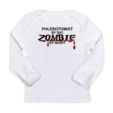 Phlebotomist Zombie Long Sleeve Infant T-Shirt