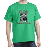 CIA - Employee of the Month Black T-Shirt