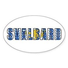 Svalbard Oval Decal