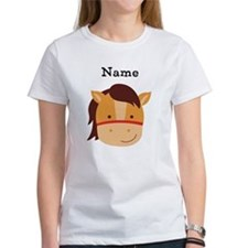 Personalized Horse Tee
