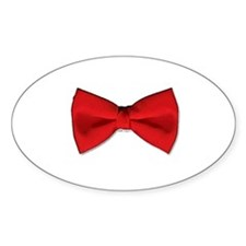 Bow Tie Red Decal