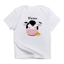 Personalized Cow Infant T-Shirt