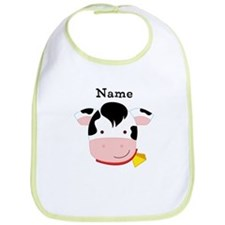 Personalized Cow Bib