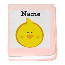 Personalized Chick Baby Blanket