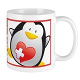 Penguin Nurse Small Mug