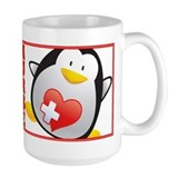 Penguin Nurse  Tasse