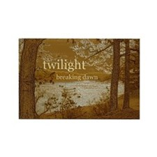 Twilight Breaking Dawn Rectangle Magnet