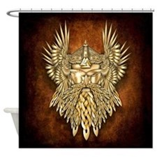 Odin - God of War Shower Curtain
