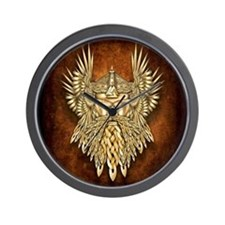 Odin - God of War Wall Clock