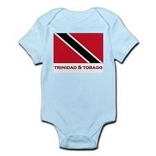 Trinidad & Tobago Flag Stuff Infant Creeper