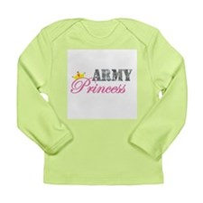 Army Princess Long Sleeve Infant T-Shirt