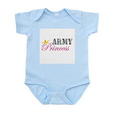 Army Princess Infant Bodysuit