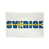 Sweden Rectangle Magnet (10 pack)