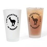 Rhodesia Mountain club black Drinking Glass