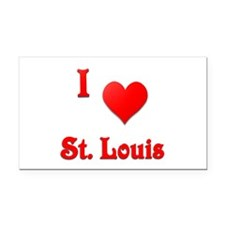 I Love St. Louis #21 Rectangle Car Magnet