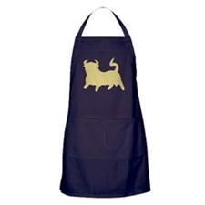 Gold Bull Apron (dark)