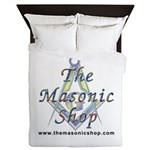 The Masonic Shop Logo Queen Duvet