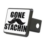 GONE STACHIN - Funny Mustache Rectangular Hitch Co