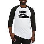 GONE STACHIN - Funny Mustache Baseball Jersey