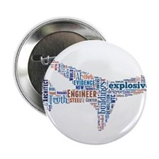 "Flight of 911 Truth 2.25"" Button"