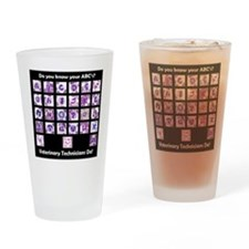 Do You Know Your ABC's? Drinking Glass