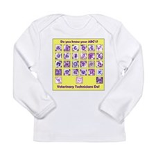 Do You Know Your ABC's? Long Sleeve Infant T-Shirt