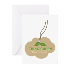 Natural Green Greeting Cards (Pk of 10)