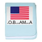 America blesses Obama baby blanket