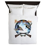 duck hunter 1 Queen Duvet