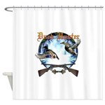 duck hunter 1 Shower Curtain