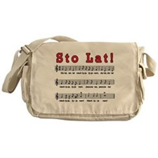 Sto Lat! Song Messenger Bag
