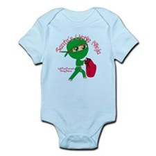 Santas Little Ninja Infant Bodysuit