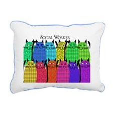 social worker cats horizi blanket.PNG Rectangular
