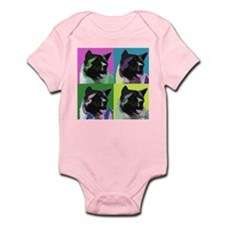 Akita Pop Art Infant Bodysuit