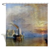William Turner The Fighting Temeraire Shower Curta