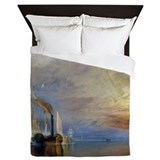William Turner The Fighting Temeraire Queen Duvet