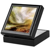 Turner Snowstorm and Avalanche Keepsake Box