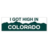 CO - Colorado Bumper Sticker