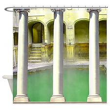 Roman Baths Shower Curtain