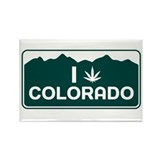 CO - Colorado Rectangle Magnet