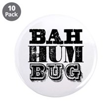 "Bah Humbug 3.5"" Button (10 pack)"