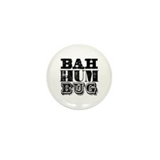 Bah Humbug Mini Button (100 pack)