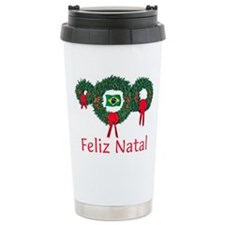 Brazil Christmas 2 Ceramic Travel Mug