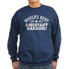 World's Best Assistant Manager Sweatshirt